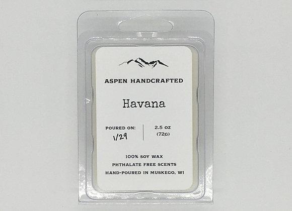 Havana - 2.5oz. Soy Wax Melt