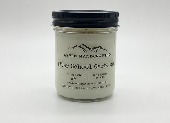 After School Cartoons - 6oz. Soy Candle