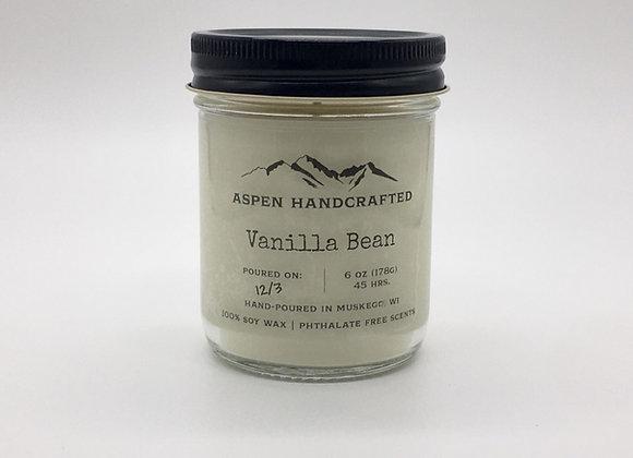 Vanilla Bean - 6oz. Soy Candle