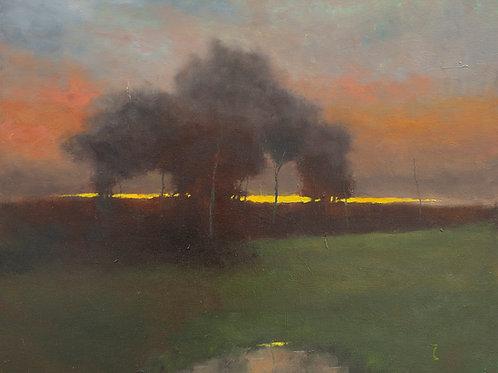 Sunset End Print