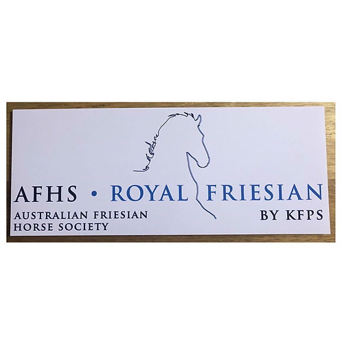 AFHS Bumper Sticker