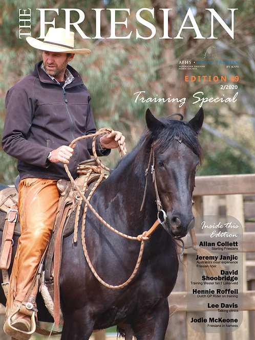 The Friesian Magazine Annual Subscription & Back Issues