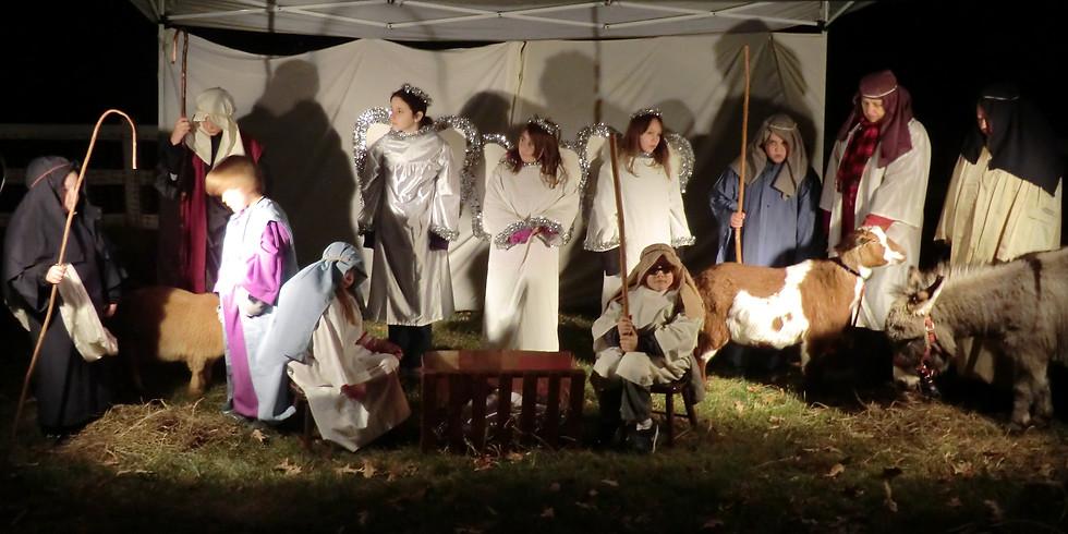 Live Nativity & Caroling