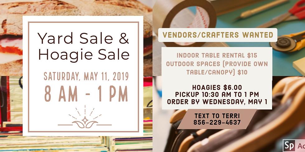 Yard Sale & Hoagie Sale