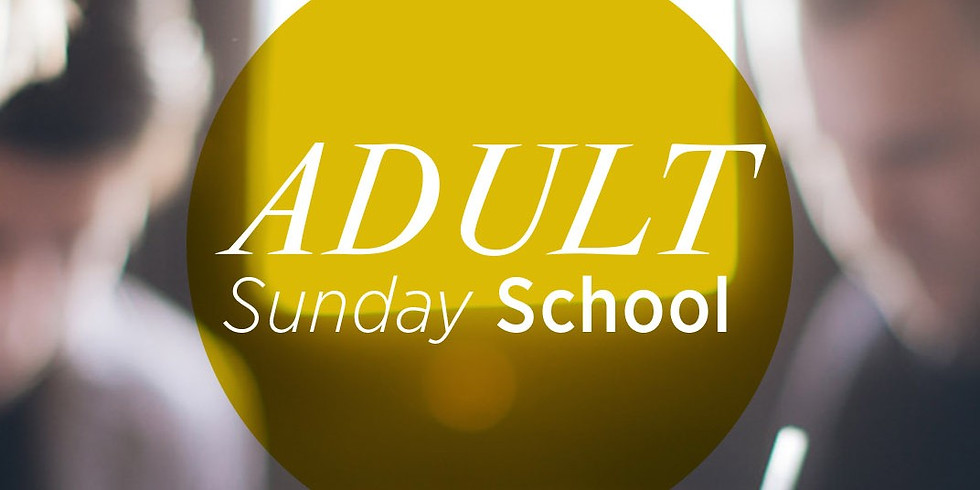 Adult Sunday School  (1)