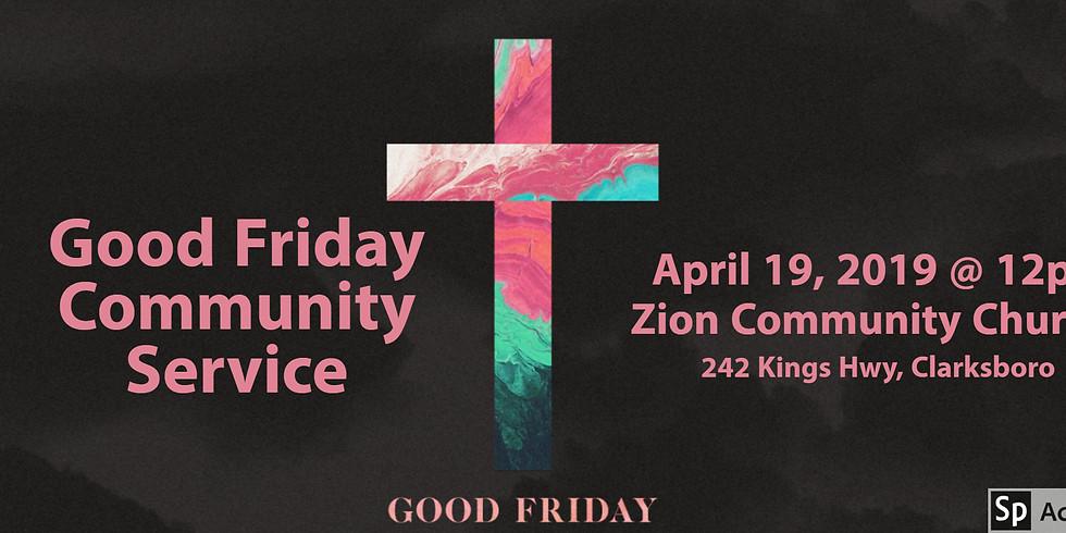 Good Friday Community Service
