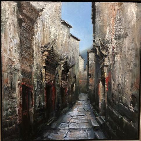 20x20 Oil on Canvas