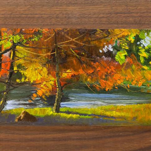 7x10 Oil on Wood