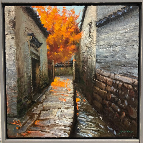 12x12 Oil on Canvas
