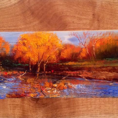 10x12 Oil on Wood