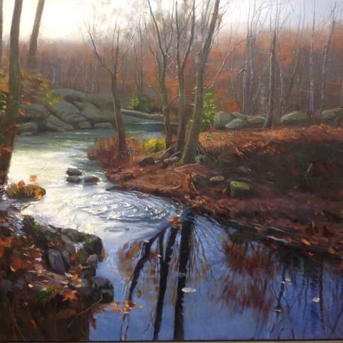 50x45 Oil on Canvas