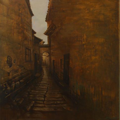 36x36 Oil on Canvas