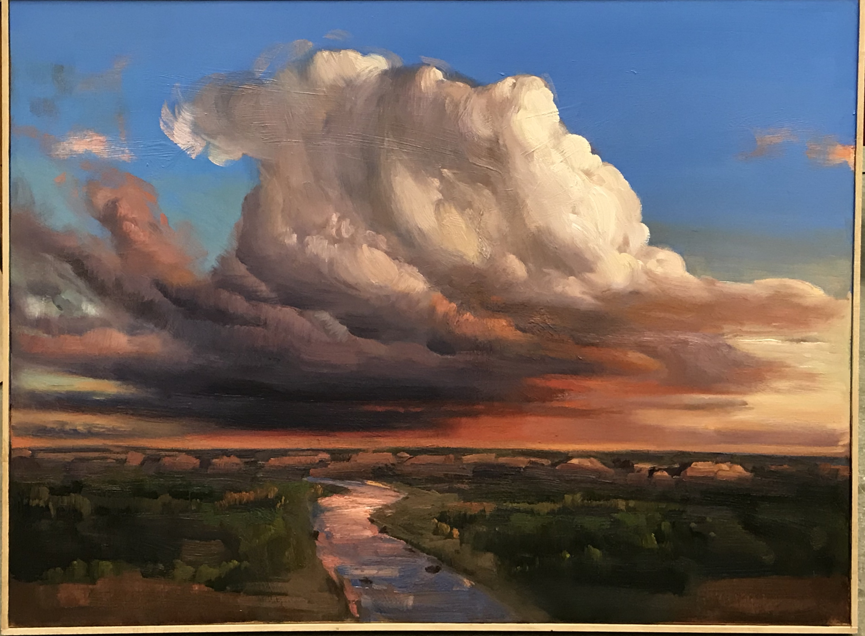 "cloud 48x36"" oil on canvas"