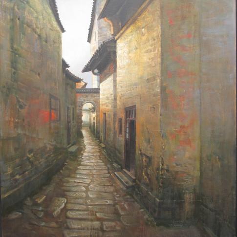 35x35 Oil on Canvas