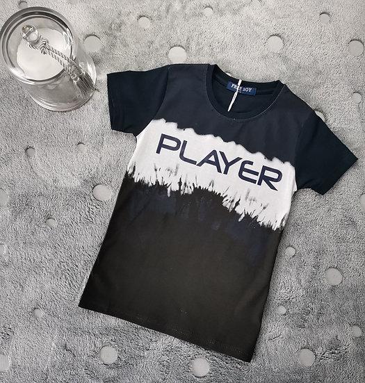 T-shirt player marine