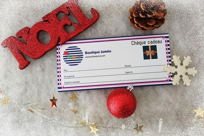 Chèque cadeau Juméo