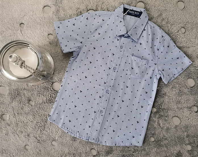 Chemise manches courte coupe
