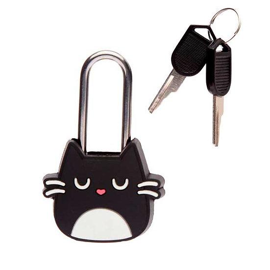 Cadenas à clé Chat