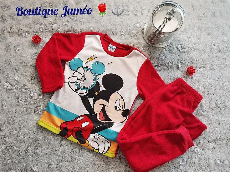 Pyjama polaire Mickey 5 ans