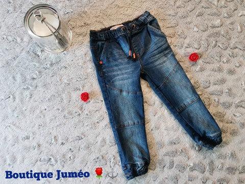 Jeans garçon élastique