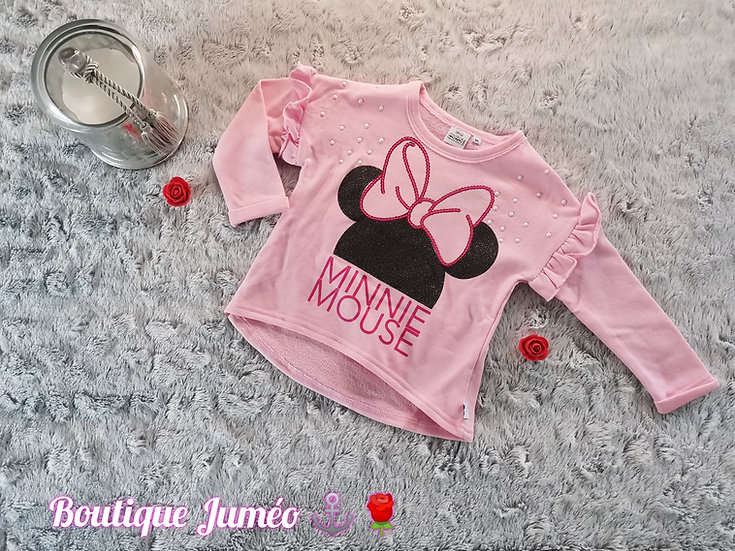 Sous pull Minnie coton