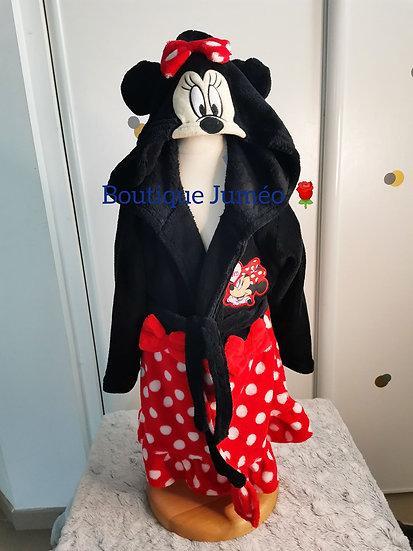 Robe de chambre polaire Minnie 3 ans