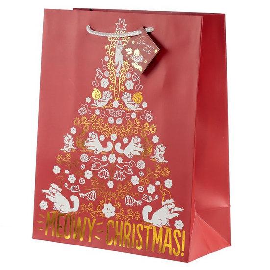 Grand sac cadeau thème noël