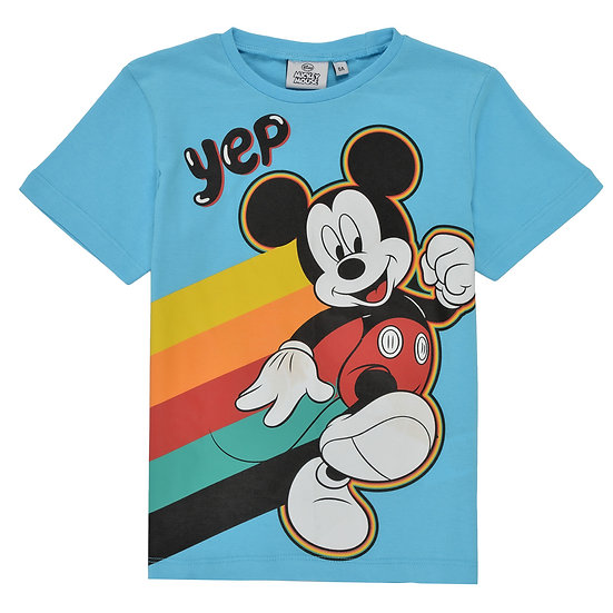 """T-shirt Mickey """"Yep"""""""