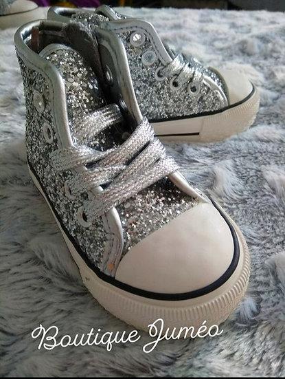Chaussure montante inspiration converse