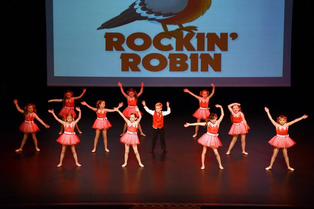 """""""Rockin Robin"""" - Monday Class"""