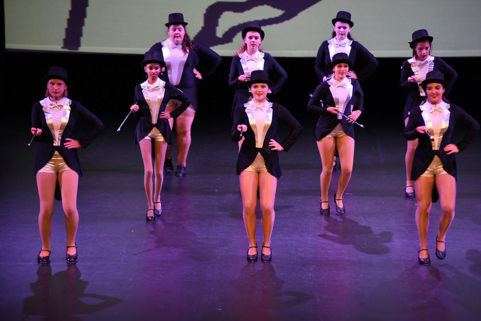 """Puttin on the Ritz""- Teen Dance Group"