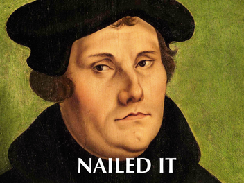 Celebrating Protestant Reformation on a Pagan Holiday?