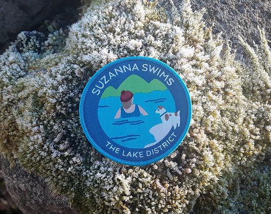 Suzanna Swims Badge