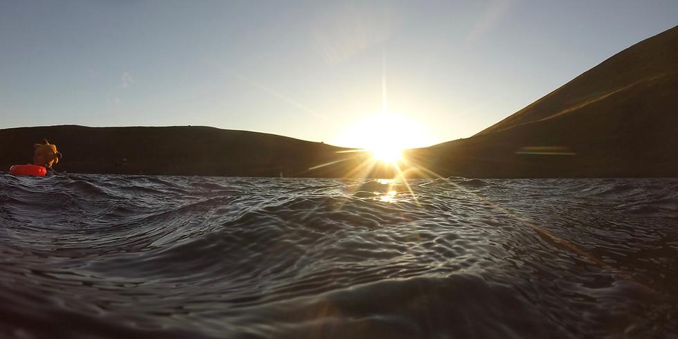 Summer Solstice walk and swim - Sunrise