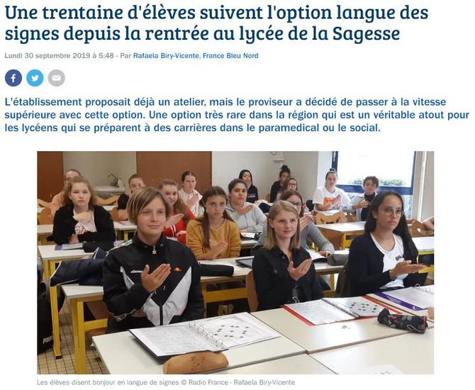 France Bleu nous consacre un article :)