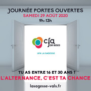 JPO - Centre de formation 2020