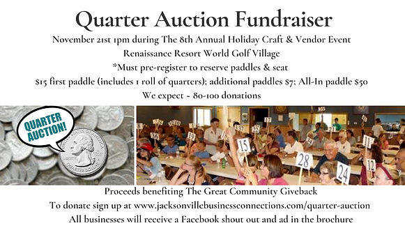 Proceeds benefiting The Great Community