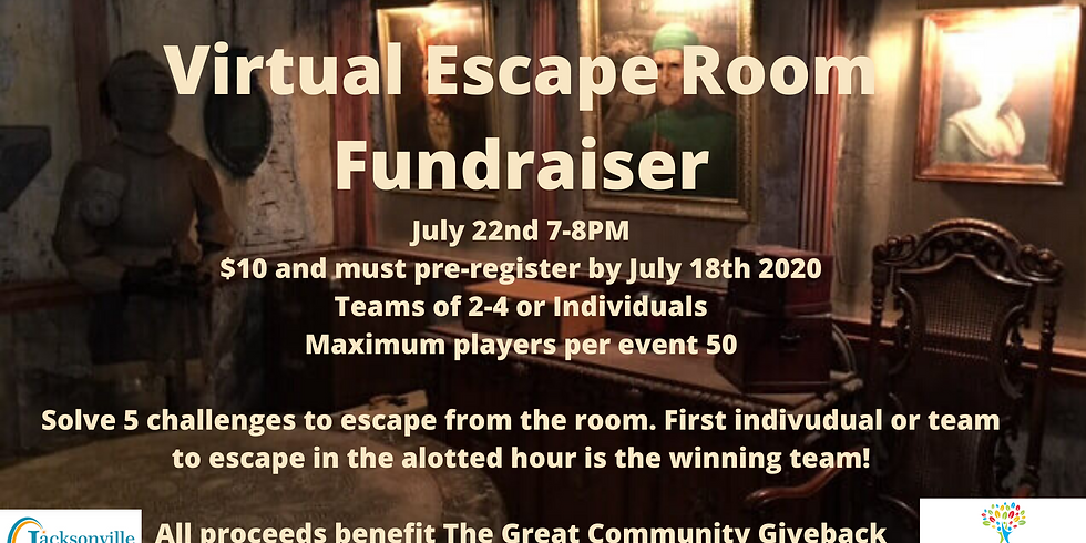 Virtual Escape Room Fundraiser