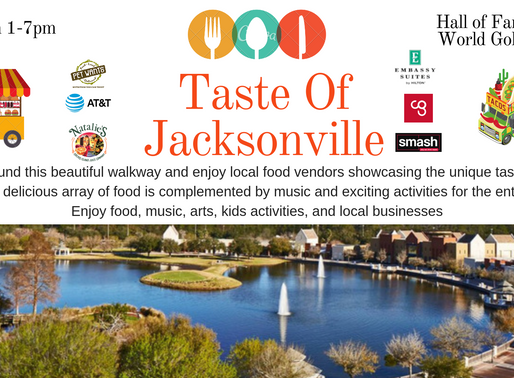 This Sunday May 5th Taste of Jacksonville!