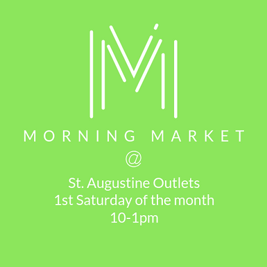 Morning Market at St Augustine Outlet