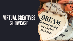 Support creatives (crafters, handmade & homemade, artists) virtually during our monthly Virtual Creatives Showcase.