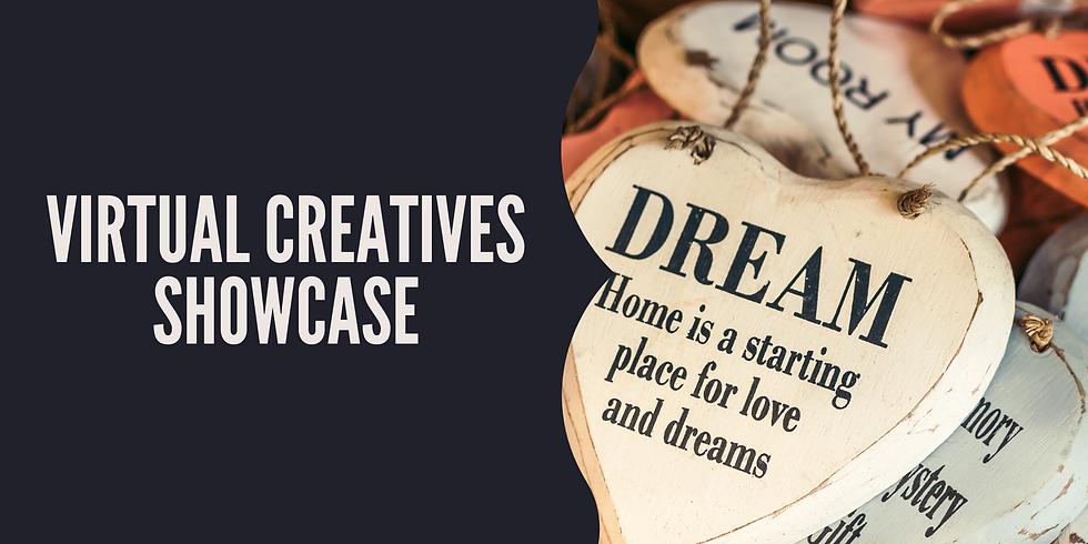 Monthly Virtual Creatives Showcase