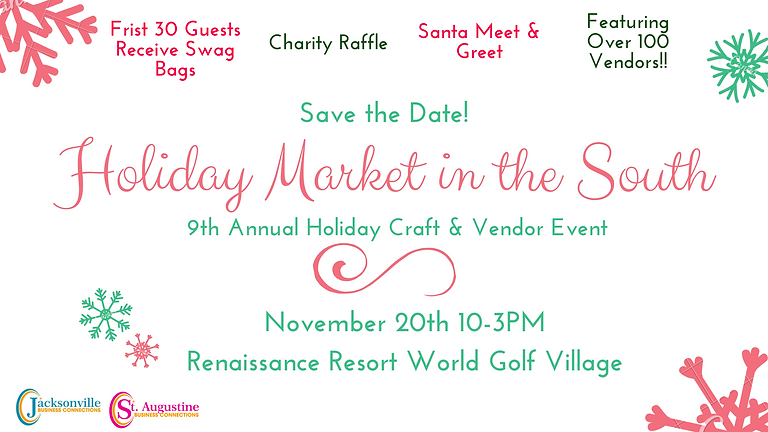 Holiday Market in the South (9th Annual Holiday Craft & Vendor Event)