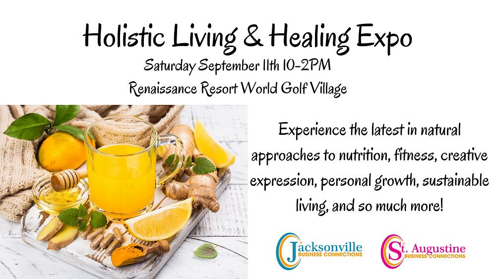 Holistic Living & Healing  Expo Vendor Application