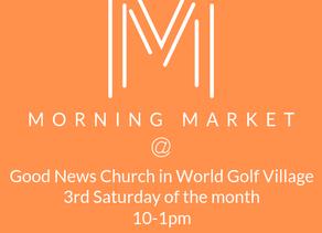 Morning Market at Good News Church Vendor Application