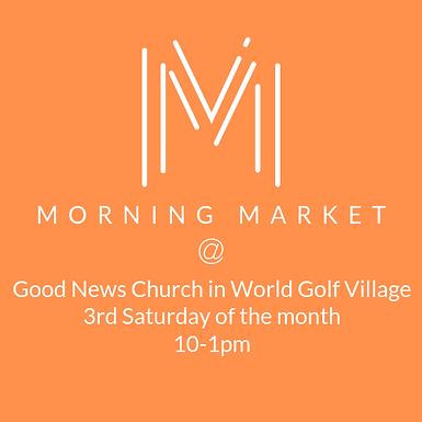Morning Market at World Golf Village