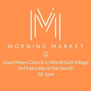 Saturday Farmer's Market at World Golf Village Application