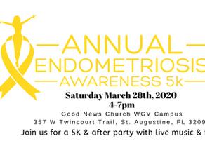 Support Endometriosis Awareness: 3rd Annual End Endo 5k