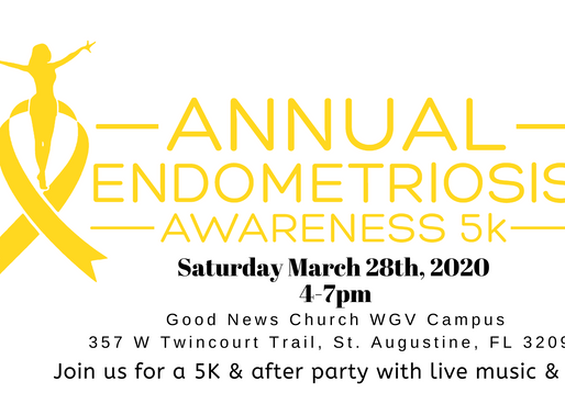 Support Endometriosis Awareness: 3rd Annual End Endo 5k