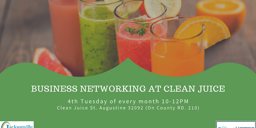 Monthly Business Networking at Clean Juice
